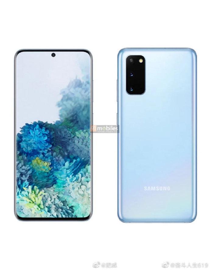 Galaxy S20の実機画像がリーク。仕様も判明か。