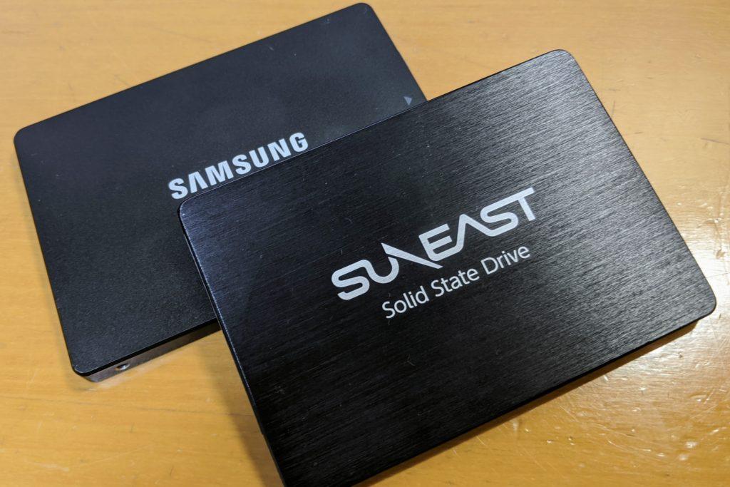 SUNEAST(サンイースト)のSSDを2年間使用レビュー 【動作問題なし】