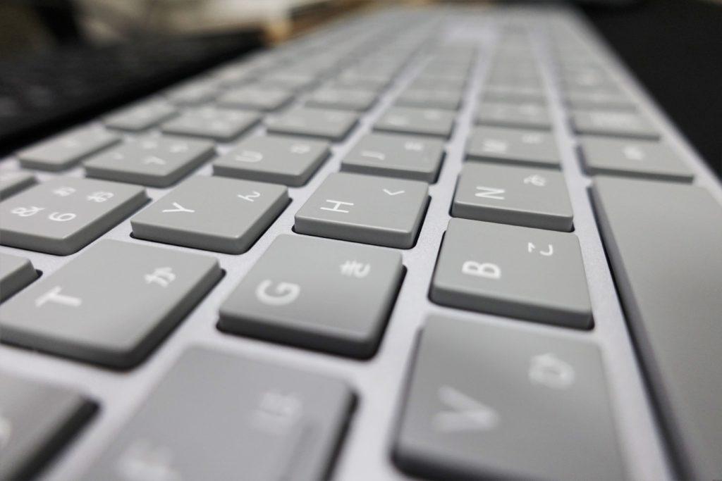 Surfaceキーボード(WS2-00019)レビュー。アイソレーション式で最強?