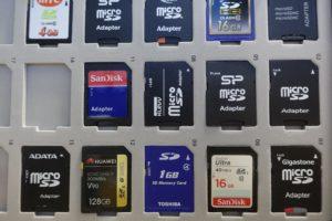 SDカードの規格による転送速度の違いを検証。規格も解説。