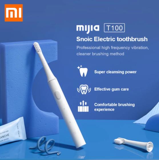 Xiaomi製電動歯ブラシ「Mijia T100」レビュー。1000円台でも高いデザイン性。
